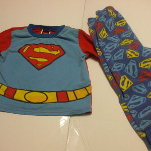 Other - Toddlers Superman PJs Pyjamas 2T 100% Cotton